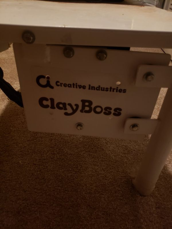 Used Clay Boss electric pottery wheel