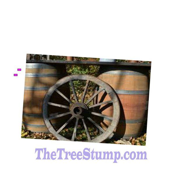 Distilled whiskey wine barrel for decor restaurant sports bar smoke shop tiki bar