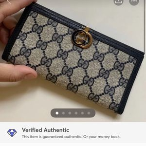 Authentic Gucci Checkbook Cover for Sale in University Place, WA
