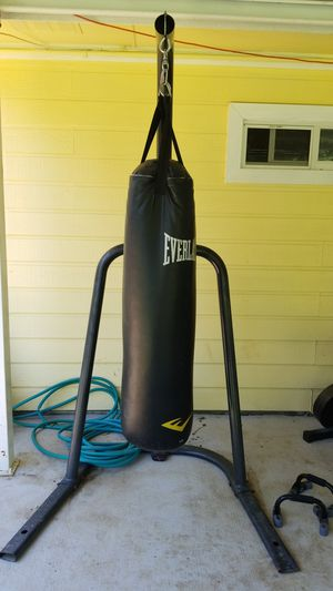 Punching bag with stand for Sale in Arlington, TX