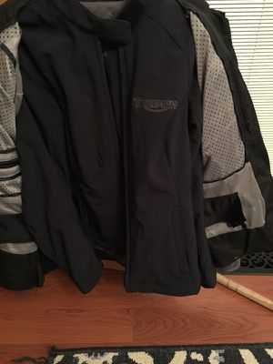 Women's Triumph Adventure motorcycle jacket for Sale in St. Louis, MO