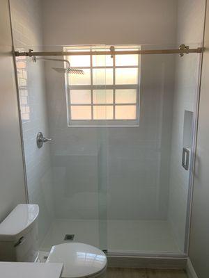 Frameless shower door sliding system for Sale in Miami, FL