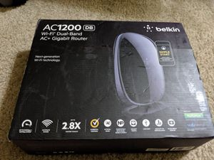 Belkin AC1200 WiFi router for Sale in Los Alamitos, CA