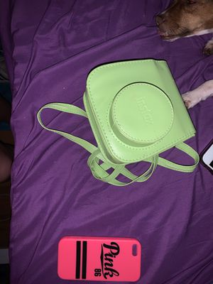Victoria secret iPhone 5 case and a mini 9 instax case for Sale in Barry, IL