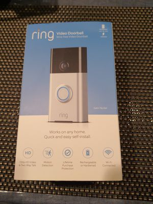 RING VIDEO DOORBELL for Sale in Tacoma, WA