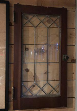 Antique leaded glass window for Sale in Yorba Linda, CA