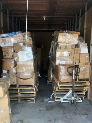 Pallets of merchandise available for Sale in La Habra Heights, CA