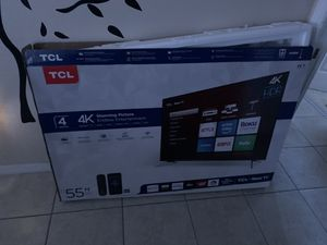 Tcl 55 Inch tv for Sale in Palm Bay, FL
