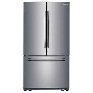 Samsung electric glass top stove and french door refrigerator stainless steel for Sale in UNIVERSITY PA, MD