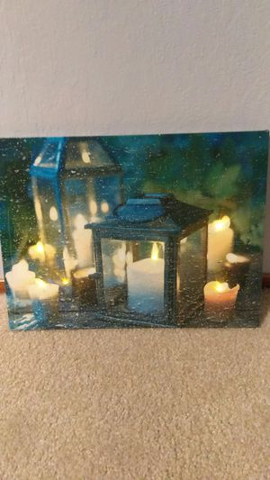 Real light up picture for Sale in Fresno, CA