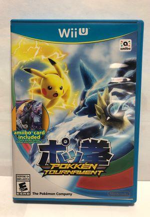 Nintendo Wii U Pokken Tournament for Sale in Chicago, IL