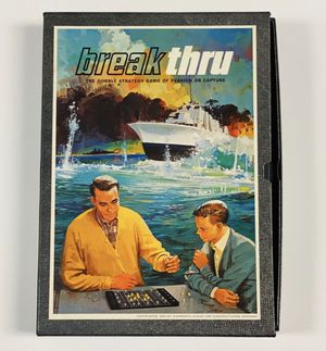 Break Thru Vintage Board Game for Sale in Albuquerque, NM