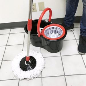 New in box $20 each Spin Mop 360 degree press mop bucket set with push and pull rotation for Sale in El Monte, CA