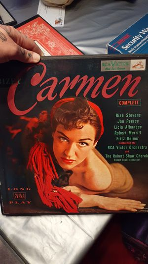 Carmen Antique Record Set for Sale in Chicago, IL
