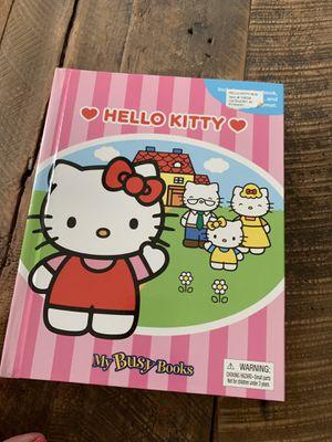 Hello Kitty book & mini figurines for Sale in Tampa, FL