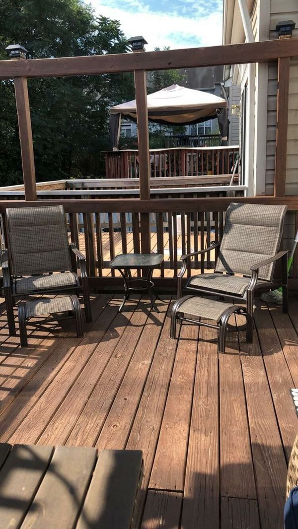 Patio furniture MUST GO NOW!
