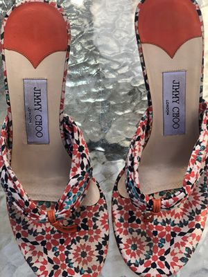 Jimmy Choo Floral Print Wedge for Sale in Miami, FL