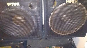 15 inch Yamaha speakers for Sale in Naugatuck, CT