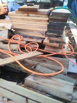 Alot wood for building a deck or carport for Sale in Virginia Beach, VA