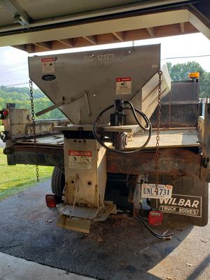 Hi-Way 3 Yard Stainless Salt Spreader for Sale in Wrightsville, PA
