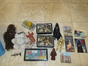 Large lot of vintage Star Wars toys and action figures 70s and 80s for Sale in Phoenix, AZ