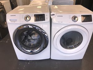 NEW Samsung electric washer and dryer for sale ! -10% off Labor Day sale ! for Sale in Las Vegas, NV
