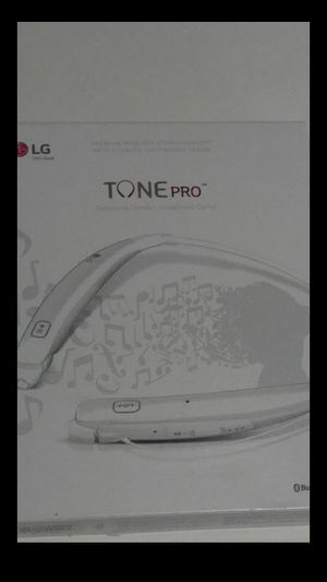 LG Tone Pro Bluetooth headphones for Sale in Chicago, IL