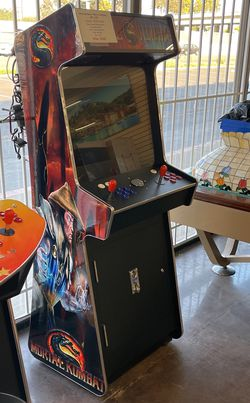 """Arcade upright 3500 games , 26""""LCD , 2 player for Sale in Huntington Beach,  CA"""