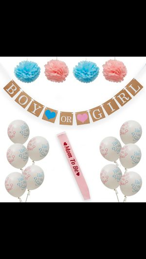 Gender Reveal Decorations for Sale in Boca Raton, FL