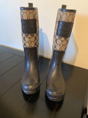 Coach Rain Boots. for Sale in Denver, CO