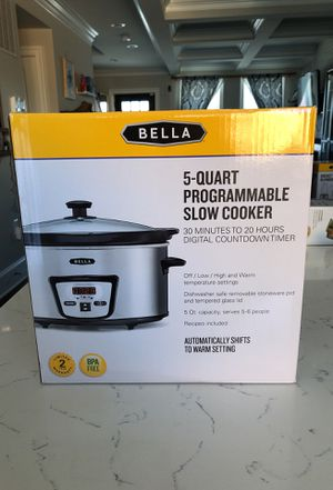 Brand new never open programmable slow cooker for Sale in Washington, DC