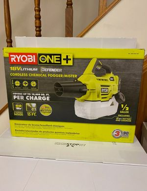 RYOBI 18V Fogger/Mister Combo TOOL ONLY for Sale in Phoenix, AZ
