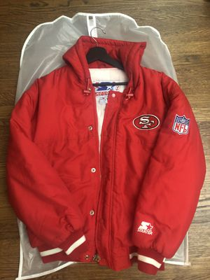 Vintage 49ers Starter Parka Sz S (fits like M) for Sale in Daly City, CA