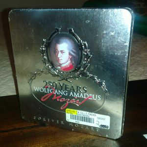 250 Years -Wolfgang Amadeus Mozart CD Collector's Box for Sale in Vancouver, WA
