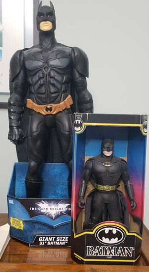 1991 14 inch Kenner Batman and 31 inch Batman Action Figure Lot for Sale in Miami, FL