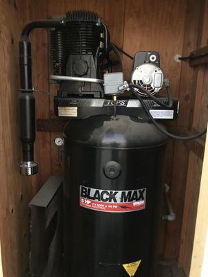 Sanborn Black Max 80 Gallon Air Compressor 220v 2 Stage for Sale in Menifee, CA