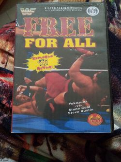 Wwf Free For All Dvd for Sale in Chicago,  IL