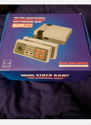 Mini retro game consoles 620 games built in new in box for Sale in Woodburn, OR