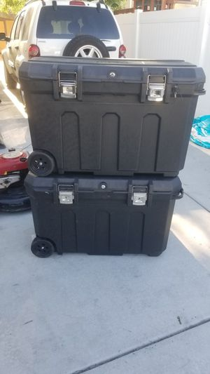 New stanley tool box 50 gallon portable $65 each for Sale in West Valley City, UT