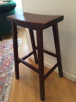 Tall wooden stool for Sale in New York, NY