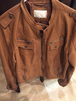 Women's faux leather brown for Sale in Sanger, CA