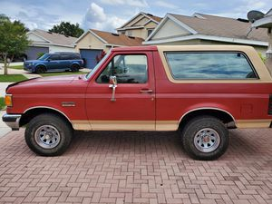 1990 Ford Bronco Eddie Bauer edition 4x4 for Sale in Riverview, FL