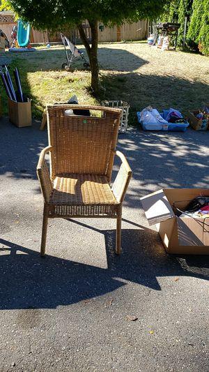 Wicker Chair for Sale in Wenatchee, WA