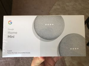 Google Home Mini (2 pack) for Sale in Ruskin, FL