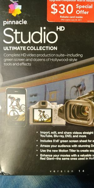 Pinnacle Studio HD Ultimate Collection for Sale in Anaheim, CA