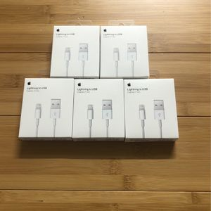 Original Apple iPhone Lightning Cable Chargers for Sale in Harleysville, PA
