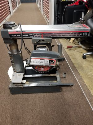 craftsman radial saw need replace switch for Sale in Franklin Park, IL