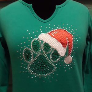 New Women's Quacker Factory Christmas Tunic Sz XXS Oversized for Sale in Monroeville, PA