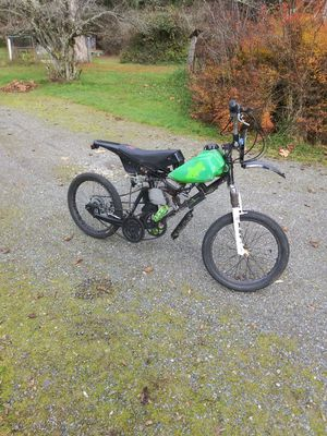 Custom build; 49cc motorized bicycle. for Sale in Tumwater, WA
