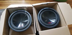 "2- 10"" alpine r subwoofers for Sale in St. Louis, MO"